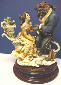 GIUSEPPE ARMANI DISNEY BEAUTY AND THE BEAST FIGURINE NR